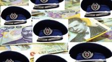DOCUMENT Polițiști contabili plătiți în plus pentru că emit fluturașii de salarii în weekend