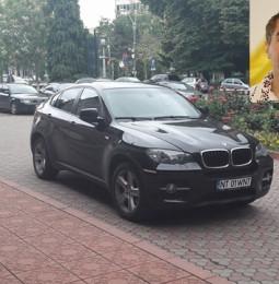 BMW-ul CJ-ului, folosit în scopuri personale