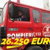 """Primăria Bicaz, """"arsă"""" șmecherește la buget. Mașina de pompieri, un Renault din 1990, a costat 26.250 de euro"""