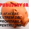 Publiserv – societate de binefacere pe banii pietrenilor. Spații în buricul târgului închiriate cu 3 lei/mp