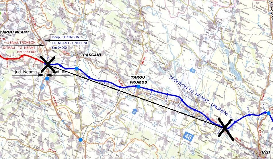 Aiureală Autostrada Targu Neamț Iași Incepe La 30 De Kilometri De